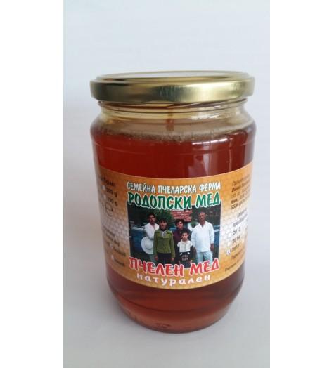 Пчелен мед билков 880 грама