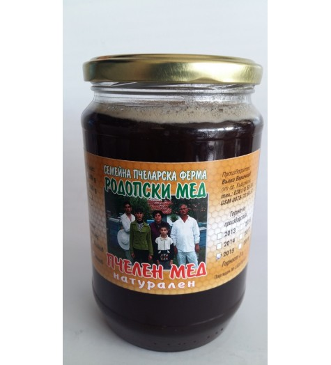 Пчелен мед манов 880 грама