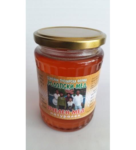 Пчелен мед билков 700 грама