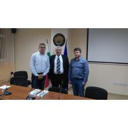 Николай Бурулянов доктор Петко Цачев и Асен топалов след семинар